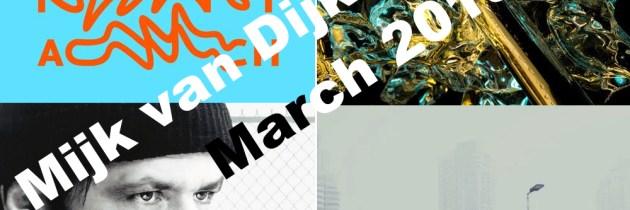 Mijk van Dijk DJ Charts March 2018