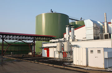 Biomassza feldolgozó komplexum