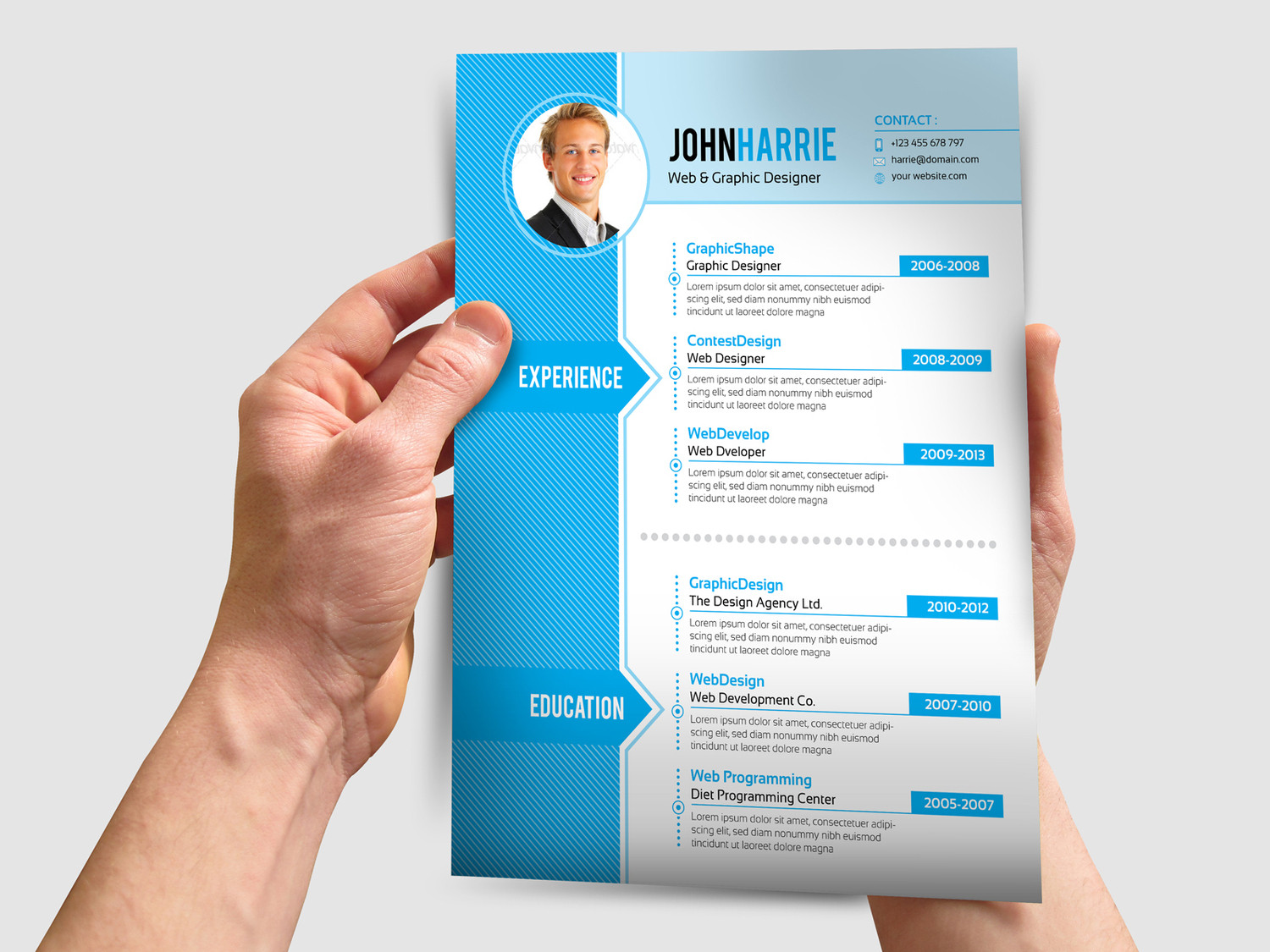 Cool Resume Design Examples. 10 awesome infographic resume ...