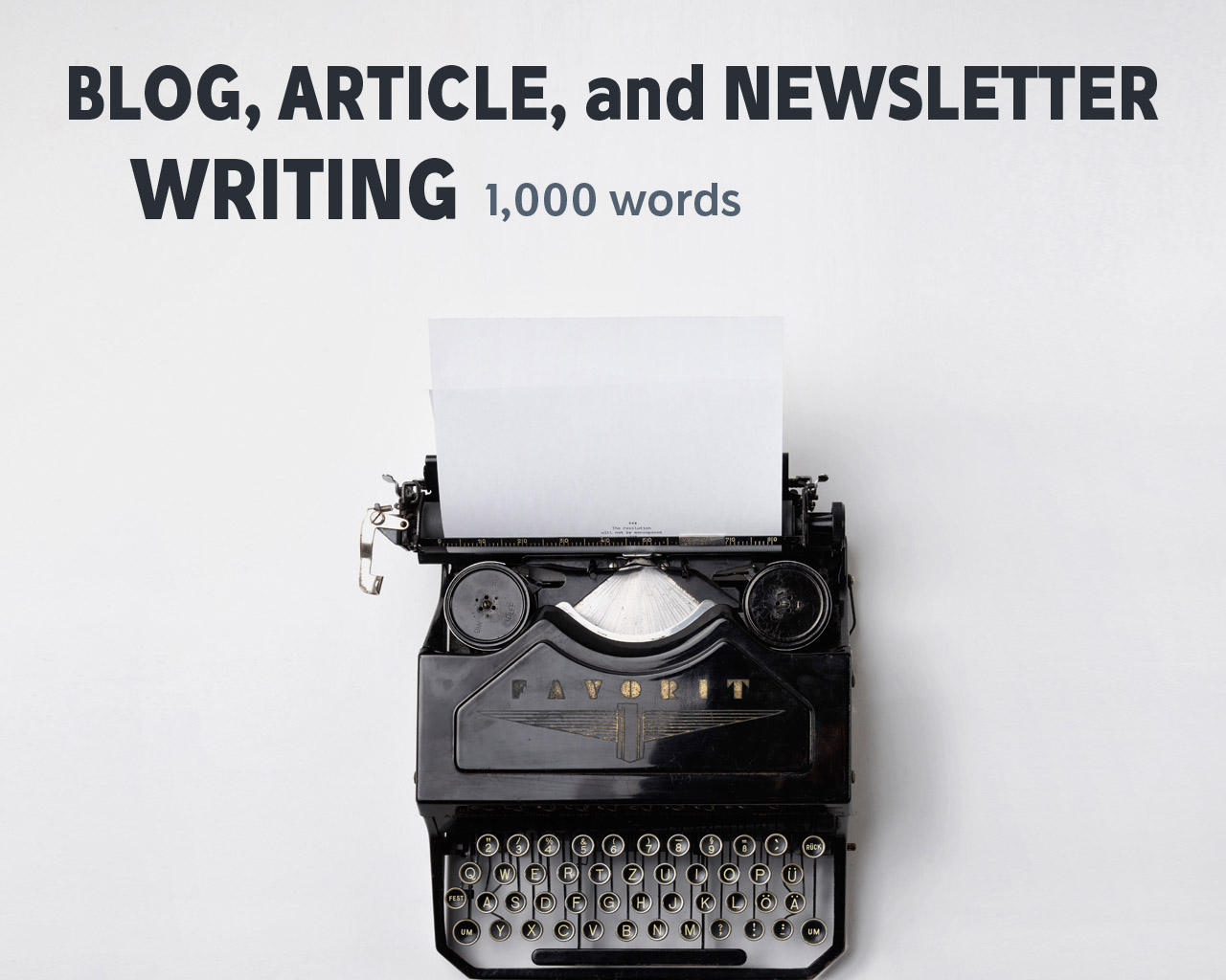 Blog Article Writers