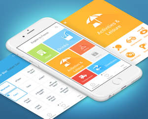 High End Mobile Application Ui Design Ios Android By