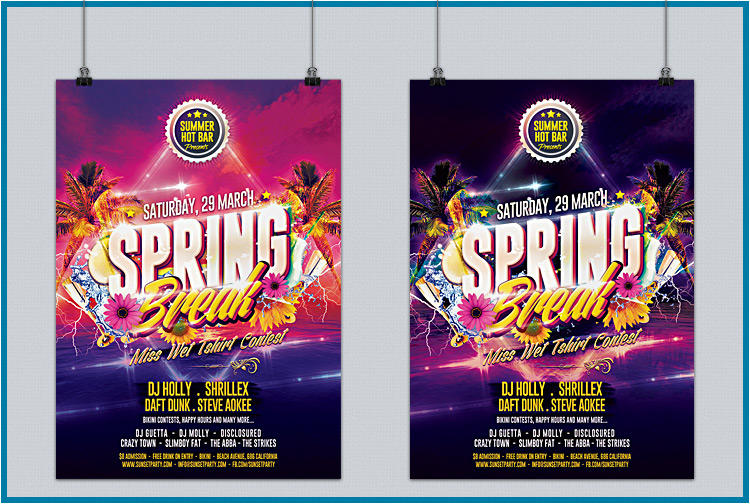 Business Commerce And Party Flyer Design By Gilledeville