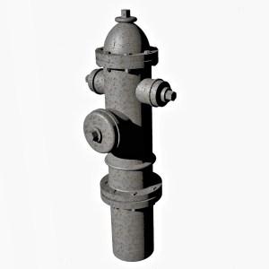 1:48 Fire Hydrant Model 1930 Ver1