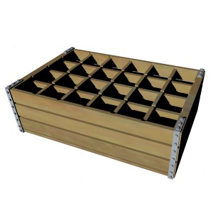 1:35 Wooden Bottle Crate