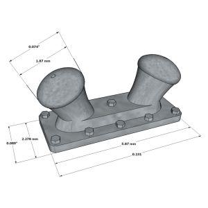 Double-Deck Bitt 5,87mm