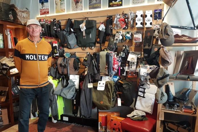 Phil Hopkins at Kingston Foreshore Cycles