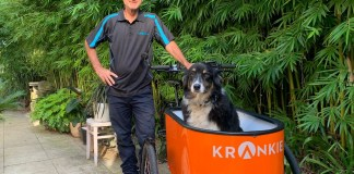 Krankie-designer-Andrew-and-dog