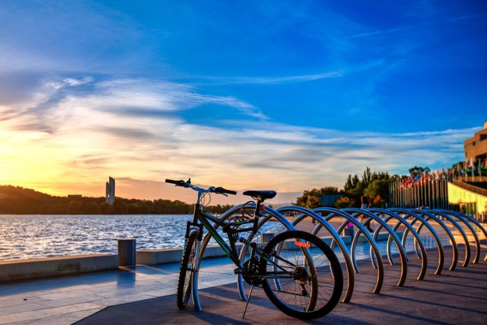 Bicycle in Canberra