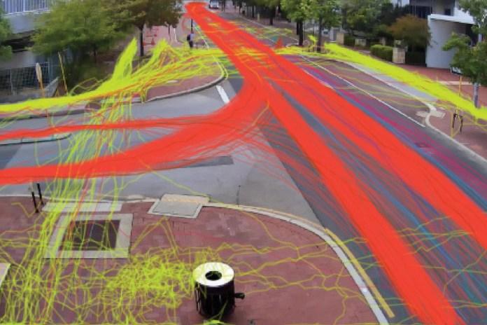 AI Bike Path Tracing