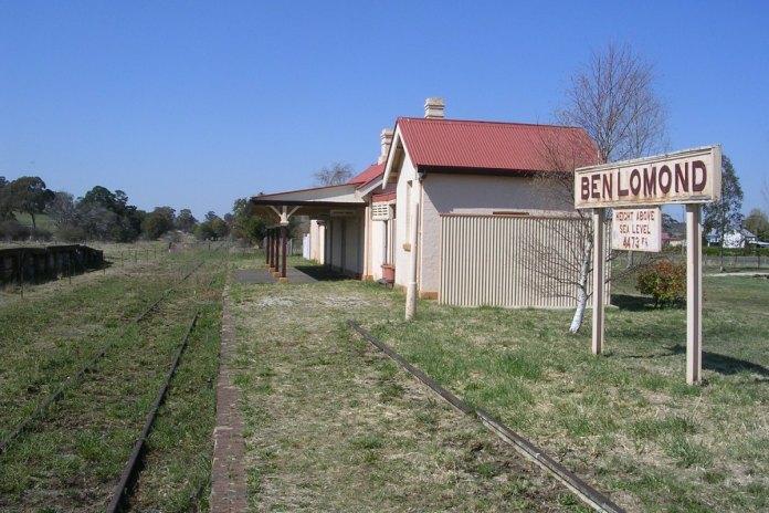 Ben Lamond Station Rail Trail