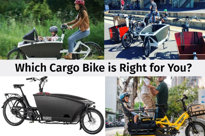 Which Cargo Bike is Right for Me?
