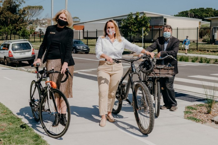 Newcastle cycleway opening