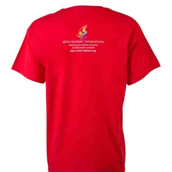 "T-Shirt ""Free to love whoever I want"" red"