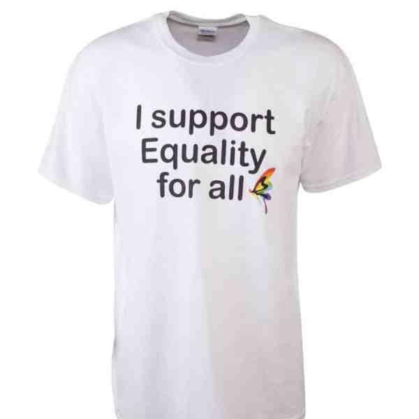 T-Shirt equality for all lgbti