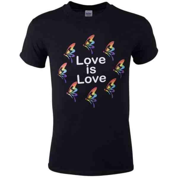 LGBT T-Shirt Love is Love