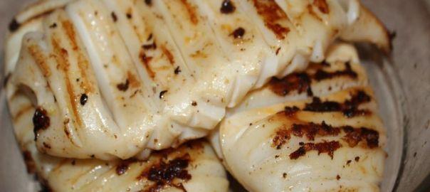 calamar grill