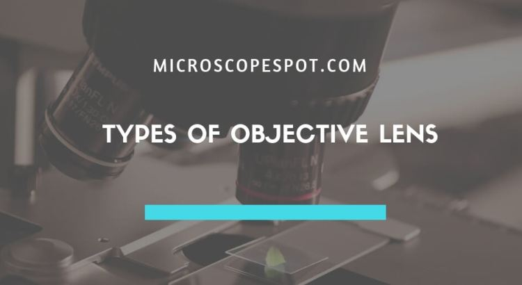 Types of Objective Lens