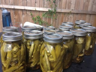 Pickling on the lot