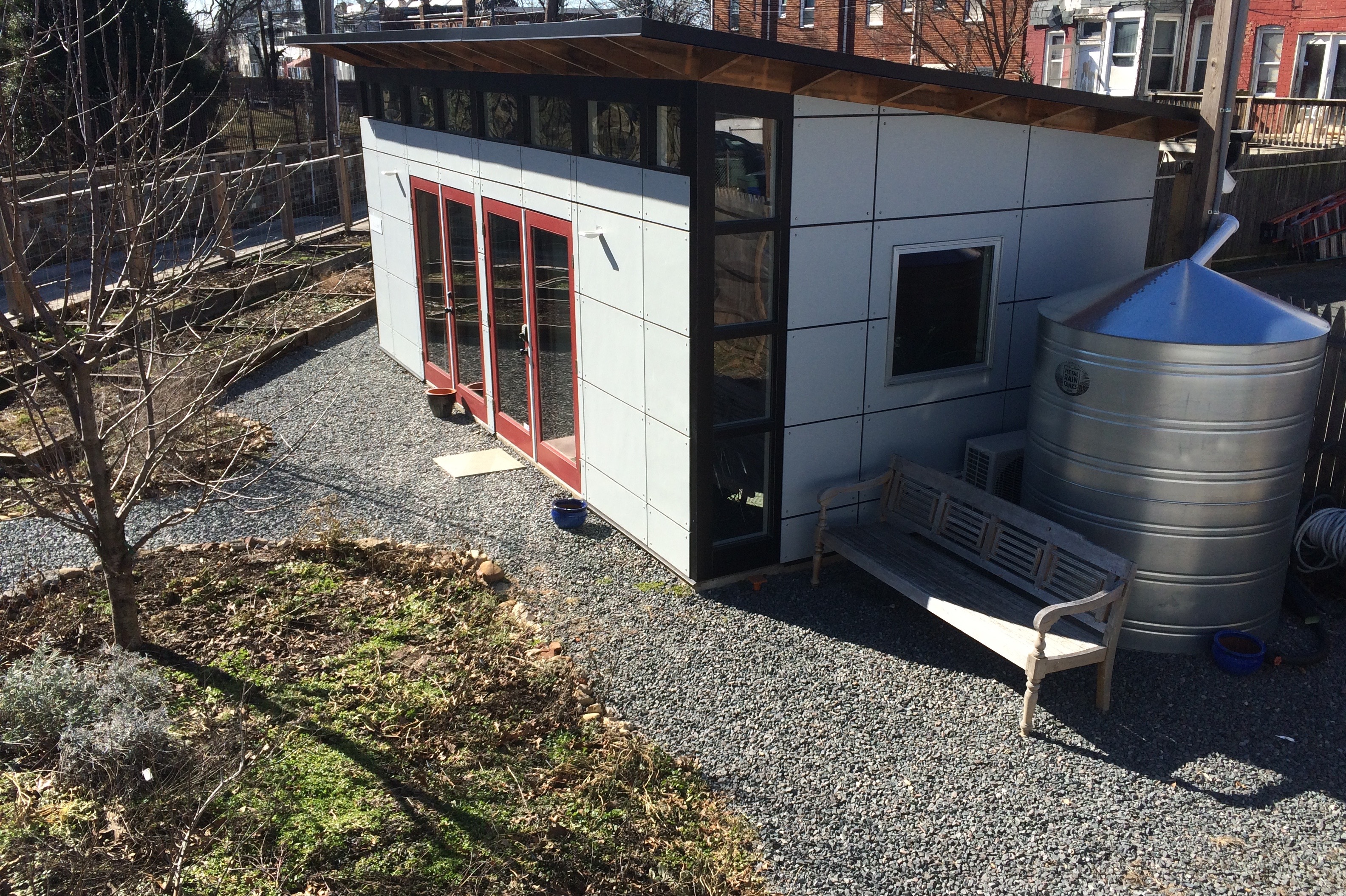 living storage ideas shed prefab converted studio the house to bedroom sheds diy houses into a inside tin bathroom kate studioshedcom with plans convert both turning livable room around make and how guest granny flat play kids quarters kit converting turn backyard