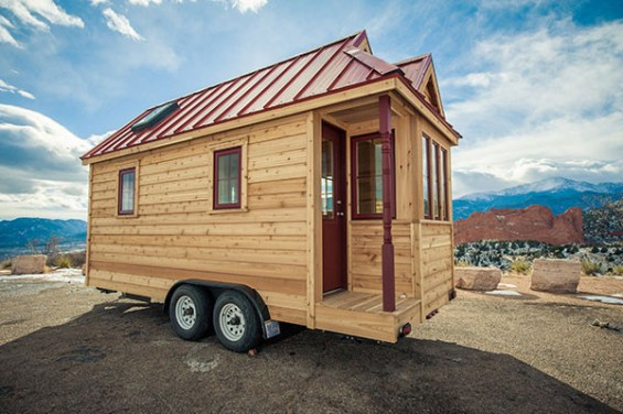 Tumbleweed Fencl tiny house (trailer, not wide load)