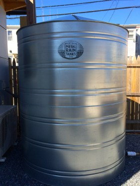 MetalRainTanks.com rain tank
