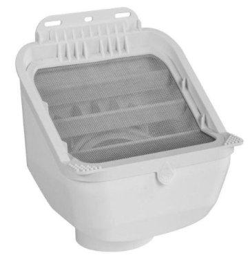 Pre-filter for gutter rain water
