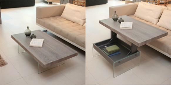 Bellagio Transforming Coffee Table - Resource Furniture