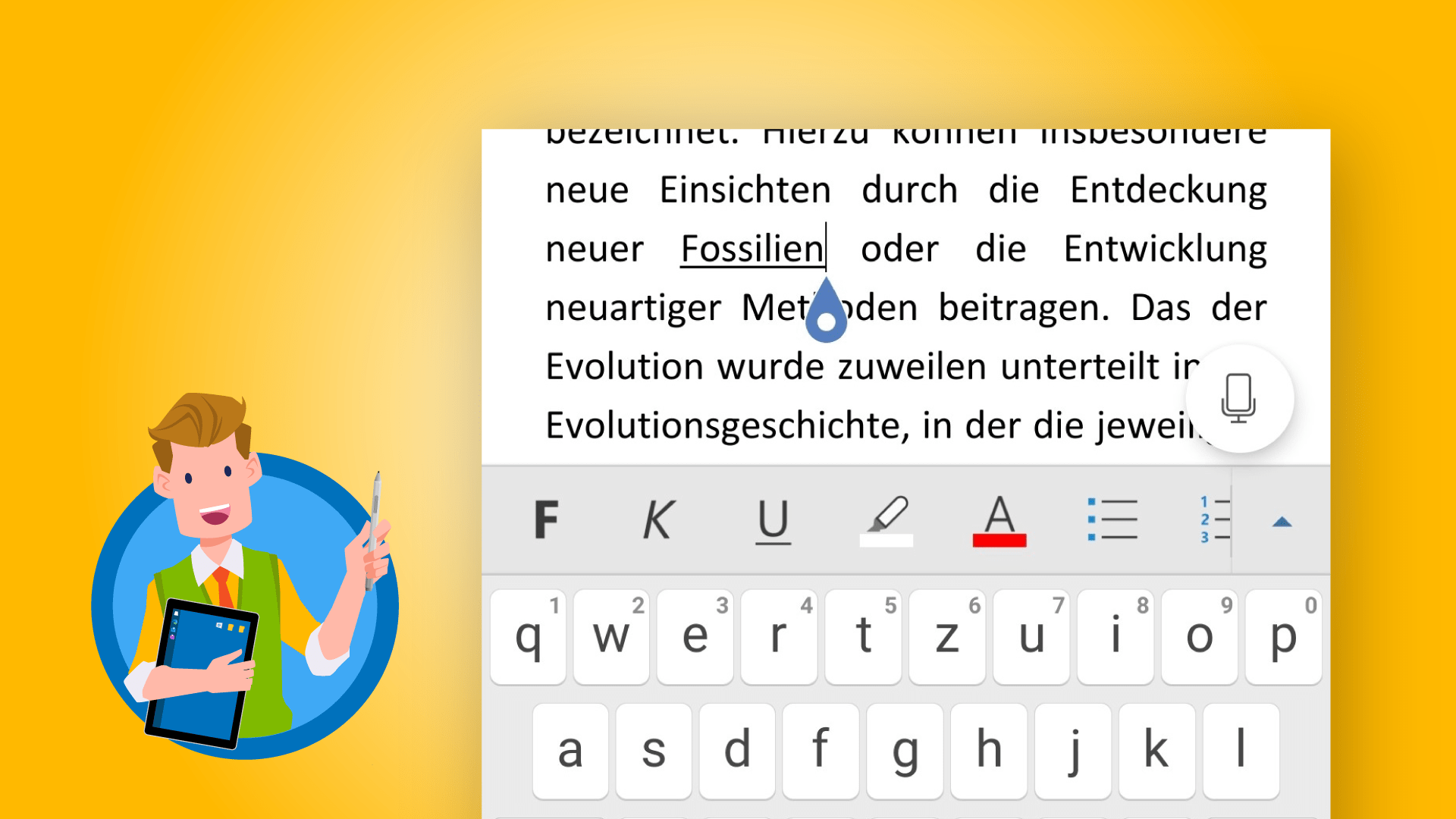 Office-App für Android / iOS - Teaser