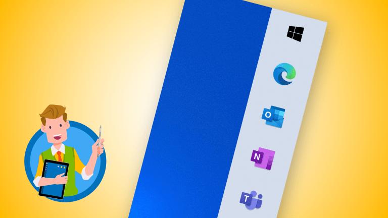 Taskleiste verschieben in Windows 10