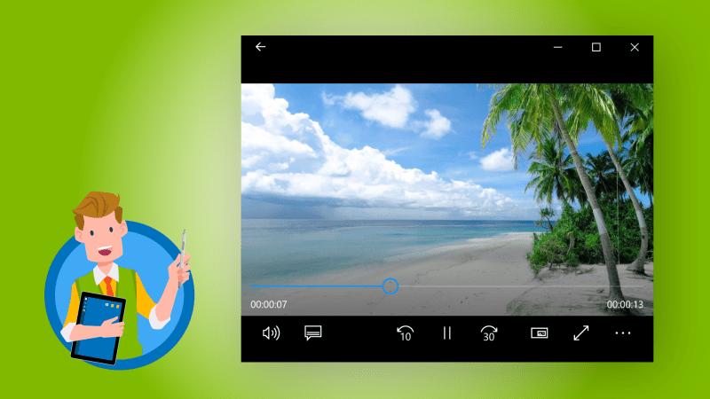 Filme & TV - Videos abspielen mit Windows 10