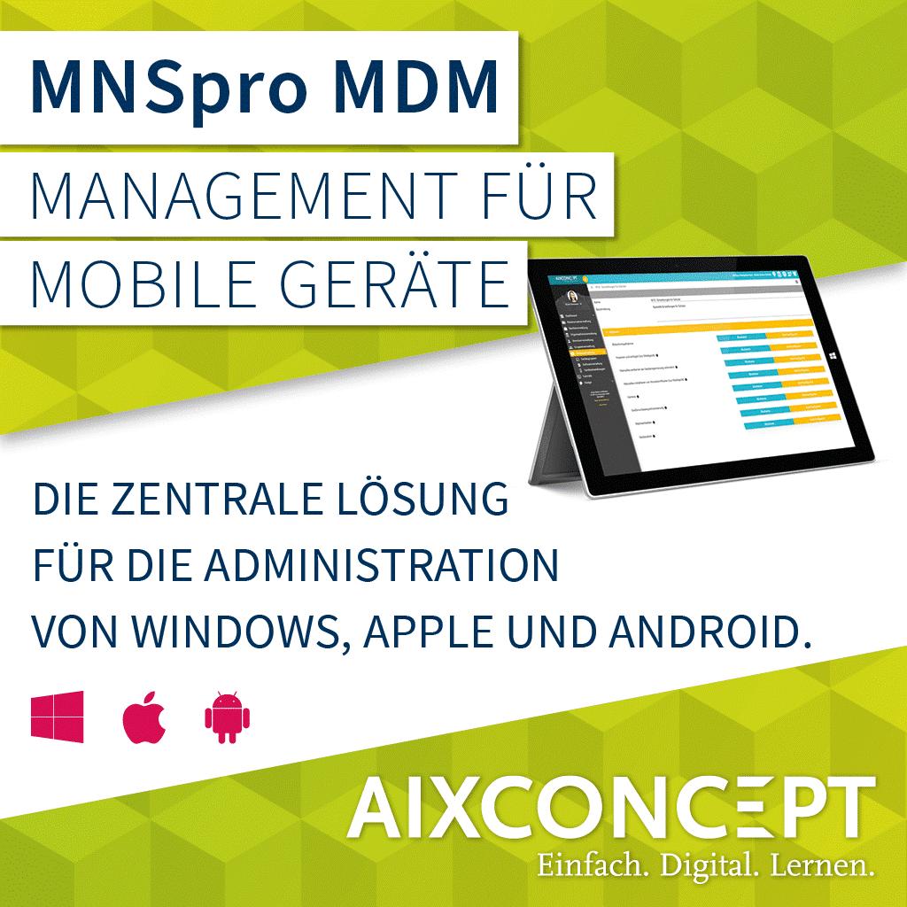 MNSpro MDM - AixConcept
