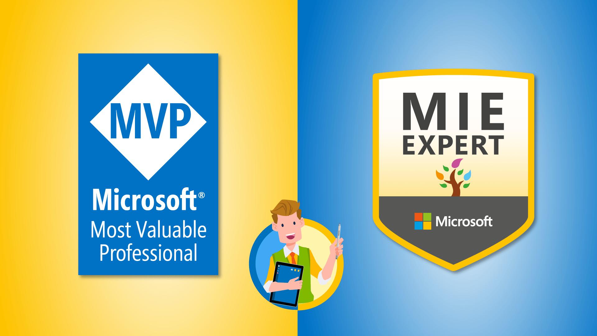 Microsoft MVP und MIEExpert