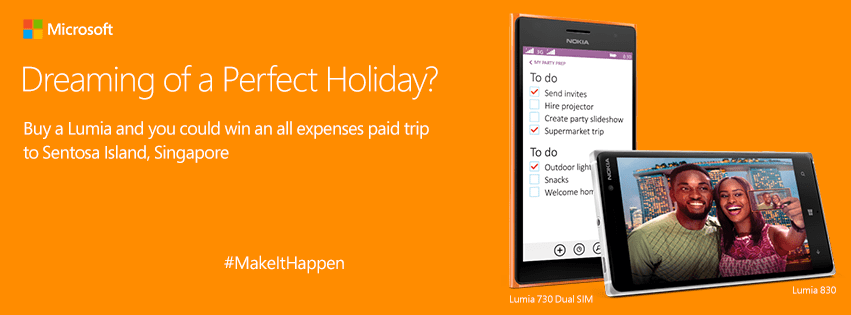 Microsoft Ghana Lumia #makeithappen