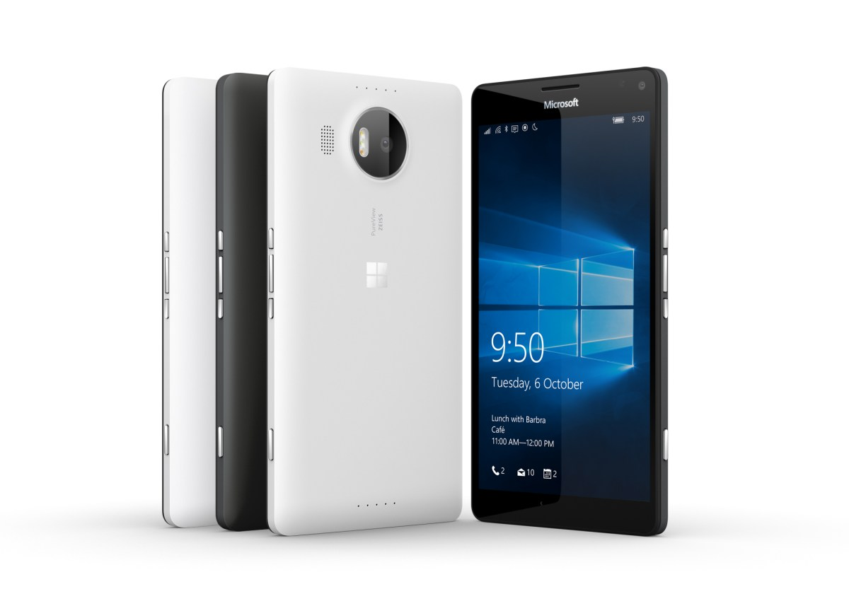 Lumia 950 and 950XL Availability and Pricing
