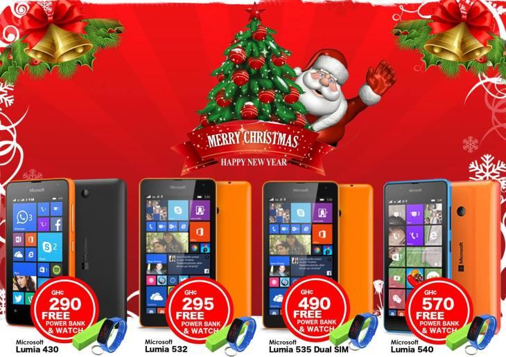 Microsoft Lumia Christmas Sales