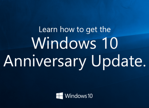 Windows 10 Anniversary Update