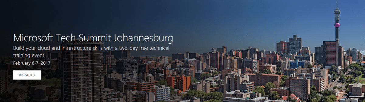 Microsoft Tech Summit Johannesburg, South Africa