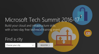 Join the Microsoft Tech Summit Middle East and Africa Event