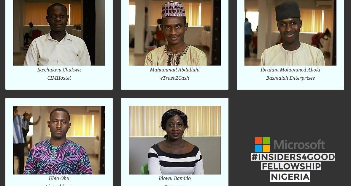nigeria Insiders fellows