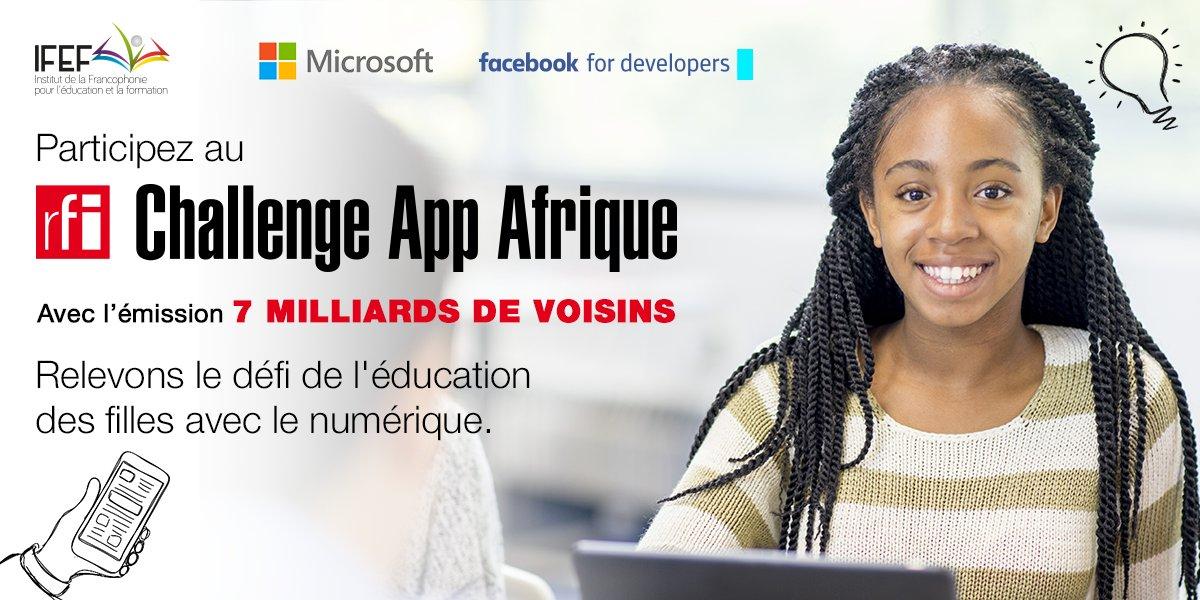 RFI Challenge App Afrique