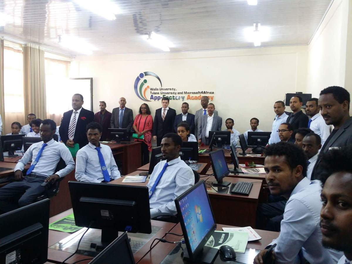 Microsoft 4Afrika AppFactory Academy Launched in Ethiopia in Partnership with Wollo University and Tulane University
