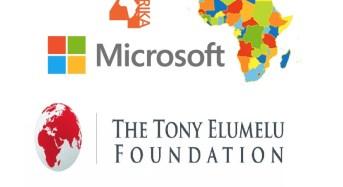 Microsoft 4Afrika partners TEF to bring Digital Technology to Tony Elumelu Foundation Entrepreneurs across Africa