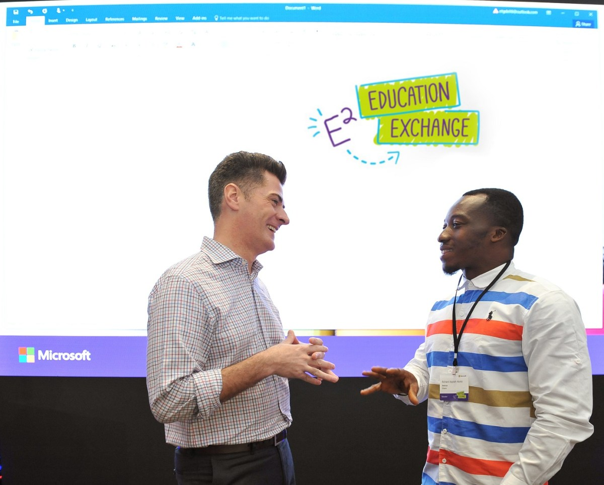 Transforming learning and impacting student skills, Microsoft Invites Richard Akoto to Singapore