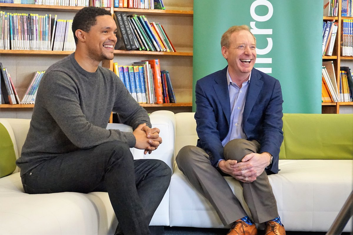 Microsoft partners with Trevor Noah Foundation to bring Digital Skills to needy Youths in South Africa