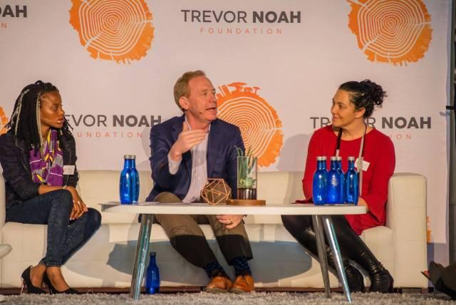 Microsoft partners with Trevor Noah Foundation