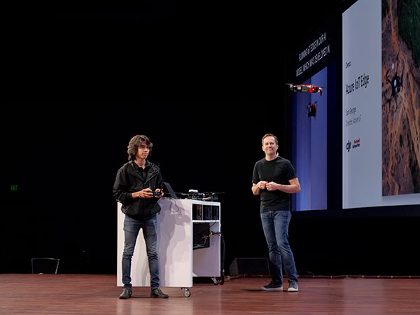 Microsoft and DJI