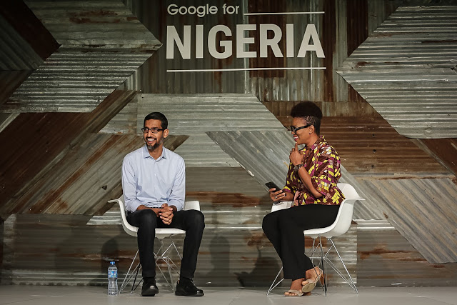 Google invites you to the Google for Nigeria 2018 event