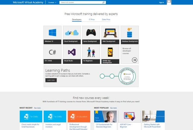 Microsoft Africa pictures,  Microsoft virtual academy
