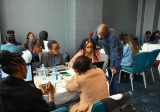 Kenyan graduates interns Microsoft certified