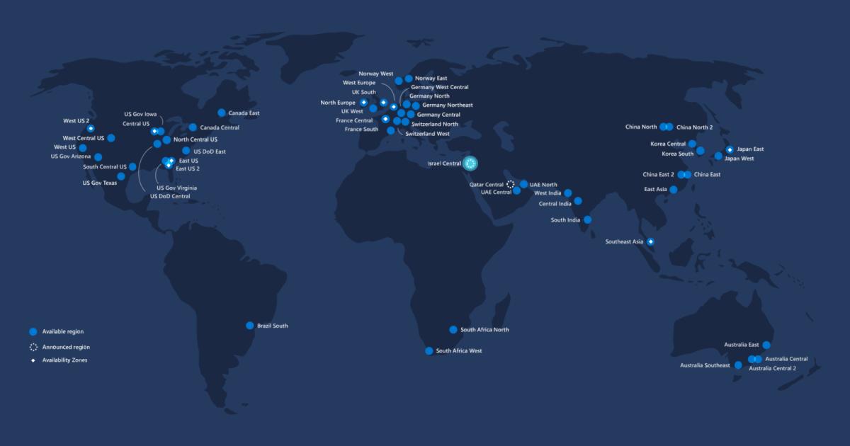 Israel datacenter Microsoft